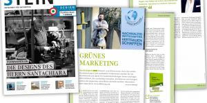 karmacom Nachhaltigkeit Best Practice Internview Stein Magazin