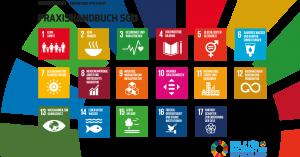 karmacom Nachhaltigkeit Praxishandbuch SDG Titel